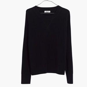Madewell Sweaters - Madewell Cashmere sweatshirt sweater Navy size xs